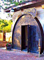 The Harmony Chapel mentioned in the book. It sits behind the Creamery Building.
